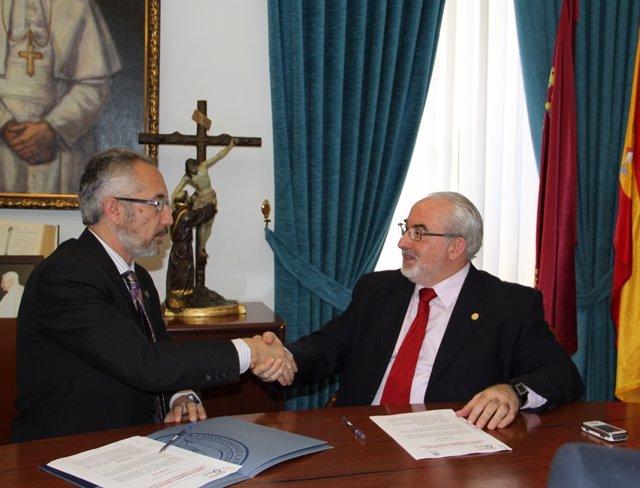 Evaristo Jiménez y José Luis Mendoza
