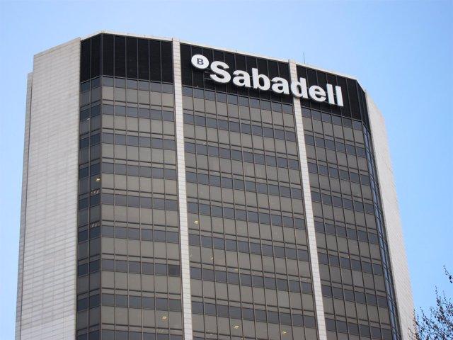 Sede de Banco Sabadell en Barcelona