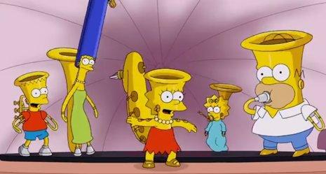 Nueva cabecera de Los Simpsons