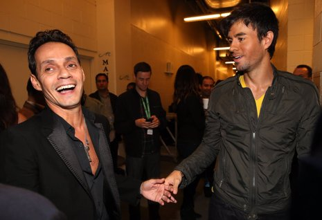 Marc Anthony y Enrique Iglesias