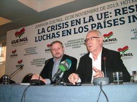 """Cayo Lara avisa a Rajoy: """"Las cuchillas no quitan el hambre, sólo provocan más heridas, más cicatrices y muerte"""""""