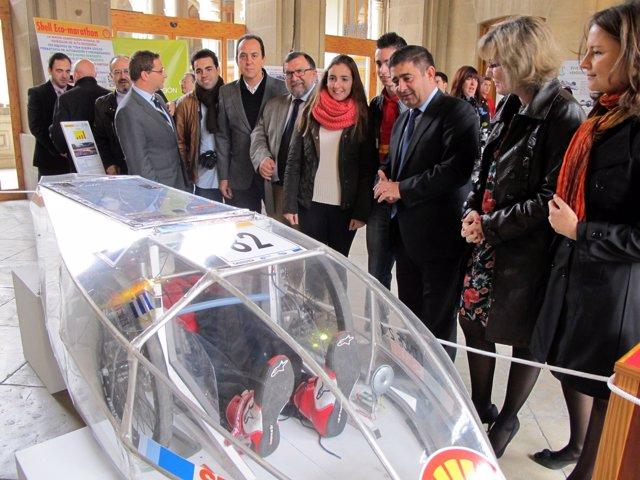 Inauguración de la exposición 'Historia del proyecto Lince'.