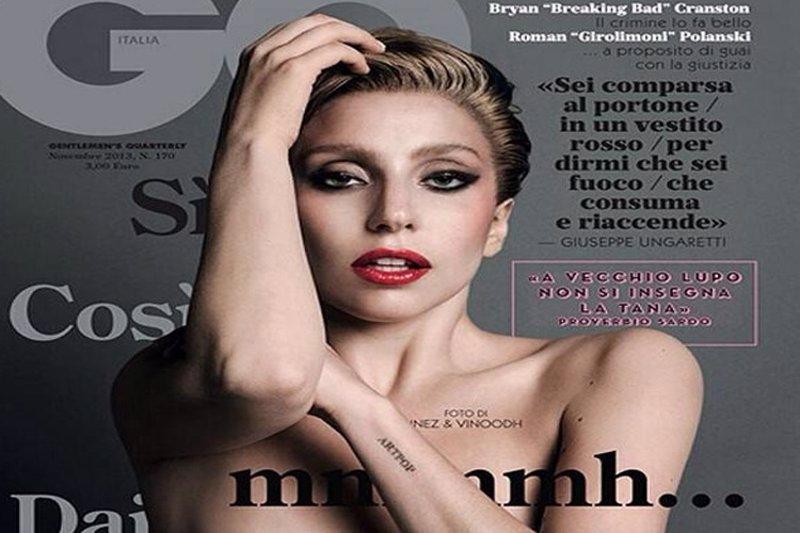 Lady Gaga Se Desnuda Para La Revista Gq Italia