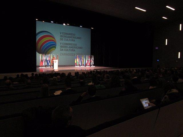 V Congreso Iberoamericano de Cultura en Zaragoza