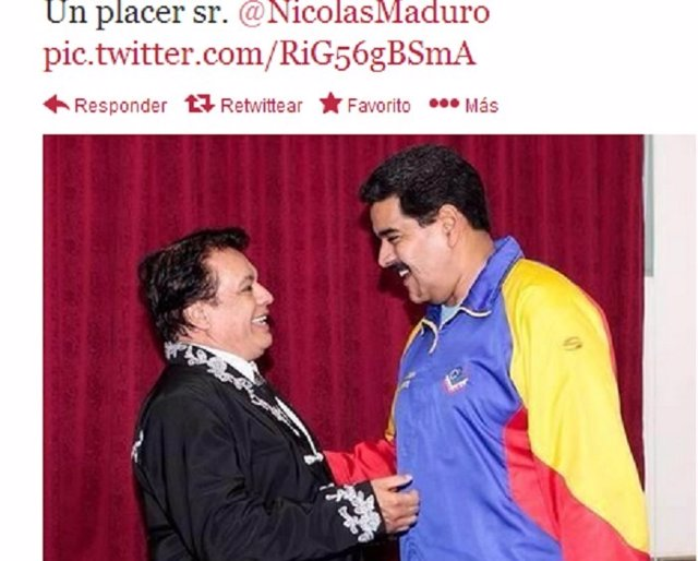 Juan Gabriel y Maduro