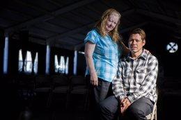 Kathy Amaya y David Amaya (desaparrecido hace 30 años)