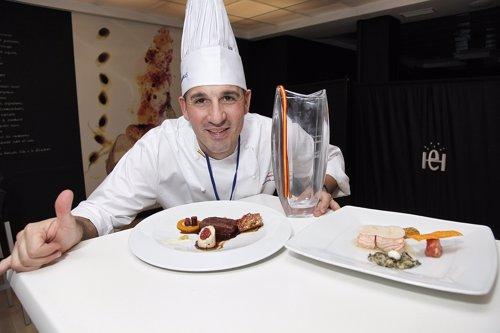Alberto Moreno, representante español en el Bocuse D'Or