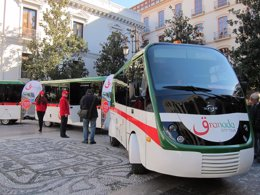 Tren turístico que conectará Granada con la Alhambra