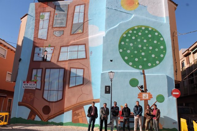 Los Alcázares contará con una ruta de Street Art