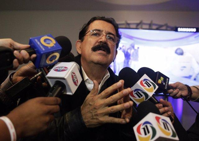Manuel Zelaya tras elecciones en Honduras
