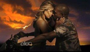 James Franco parodia a Kayne West y Kim Kardashian