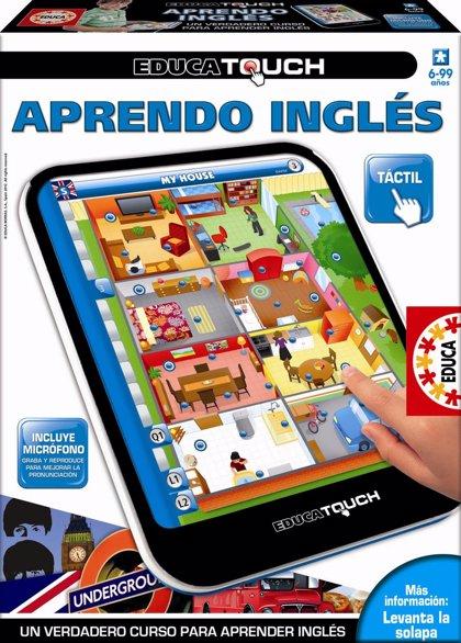 ¡Llévate el juego Educa Touch Aprendo Inglés!