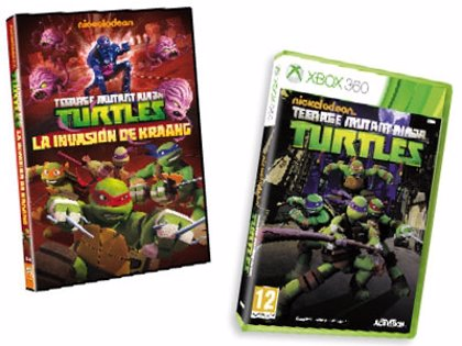 Llévate un videojuego gracias a 'Las Tortugas Ninja: La invasión de Kraang', ya en DVD