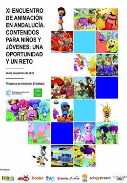Cartel del IX Encuentro de Animación