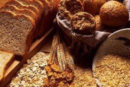 Imagen de pan y cereales integrales