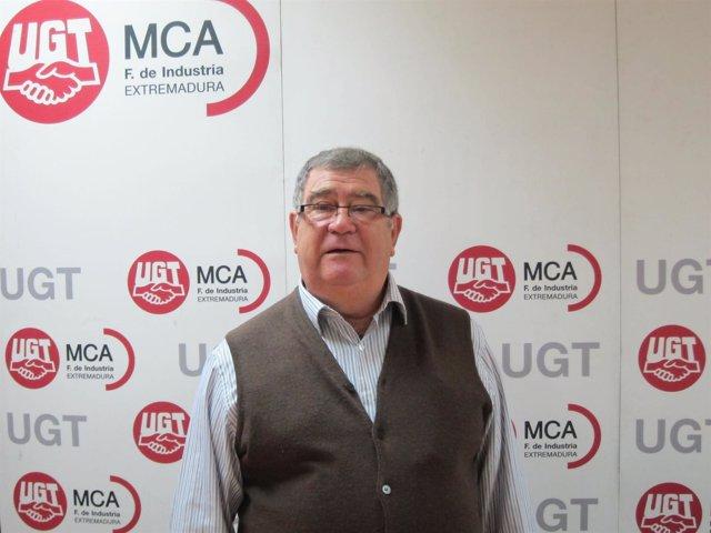 Miguel Ángel Rubio, Actual Secretario De MCA-UGT Extremadura