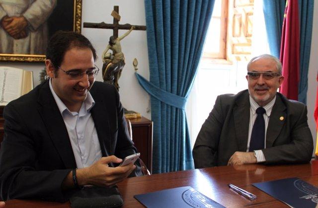 José Luis Mendoza y Julián Moreno Beltrán