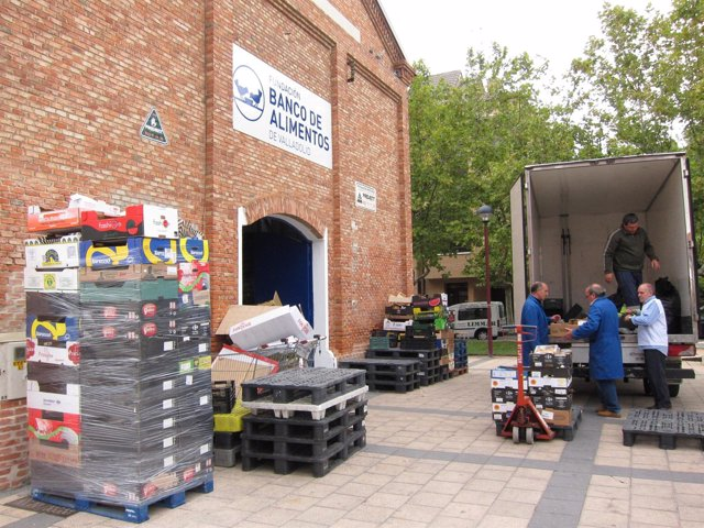 Banco de Alimentos de Valladolid.