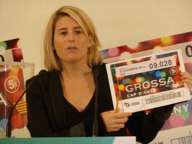 La directora de Tributos y Juegos de la Generalitat, E.Artadi