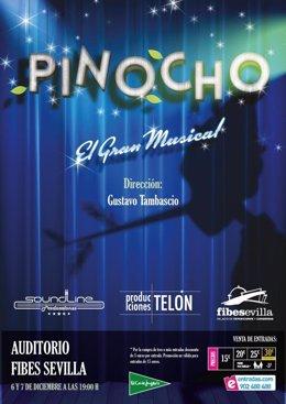 El musical 'Pinocho' llega a Fibes