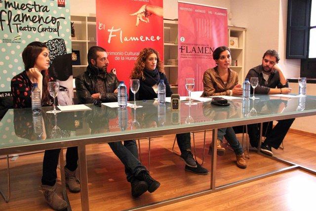 Presentación del Festival Flamenco en Rusia