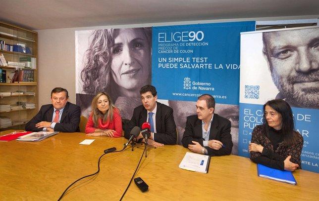 Presentación del programa en Tudela.