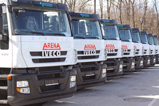 Pedido de Iveco Stralis GNC en Bulgaria