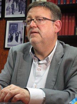 Ximo Puig, secretario general de PSPV-PSOE