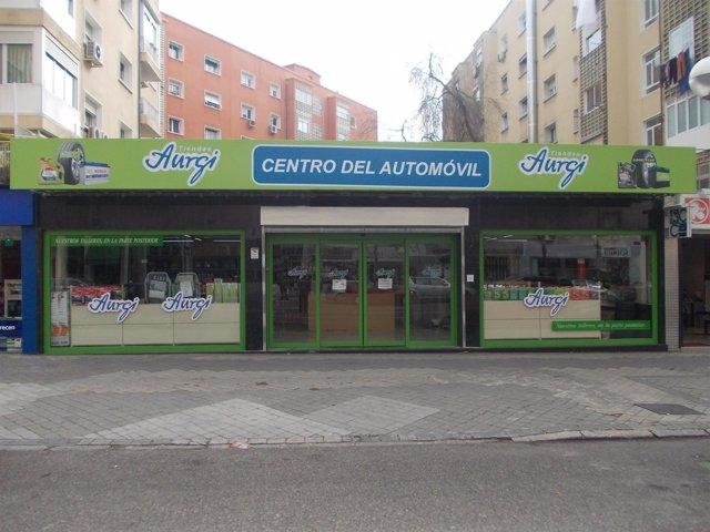 Centro de Aurgi en la calle Serrano de Madrid