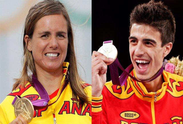 Marina Alabau y Joel Gónzalez