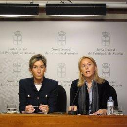 Esther Landa y Cristina Coto