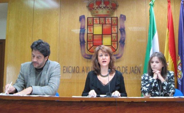 Antonio Guinea de Toro, María del Mar Shaw y Carmen Guerrero