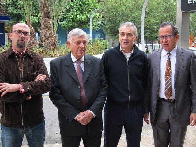 Los responsables de la Asociación Murcia Transparente