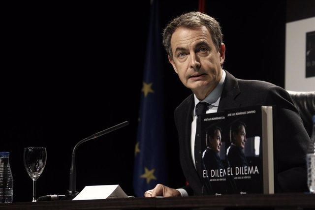 Zapatero presenta su libro