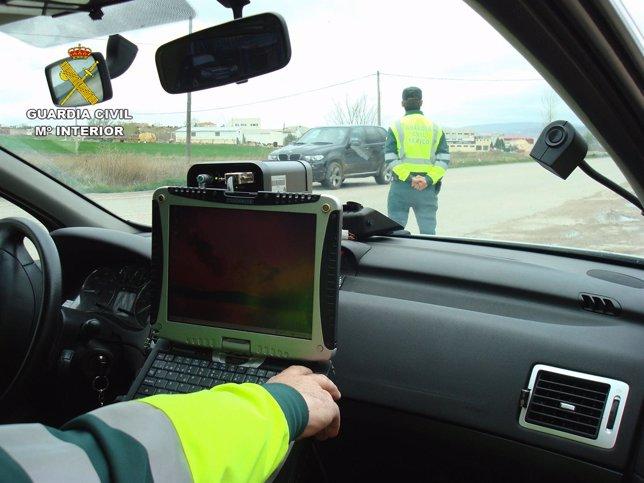 Control circulación, tráfico, seguridad vial