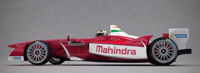 Coche de Mahindra en la Fórmula E