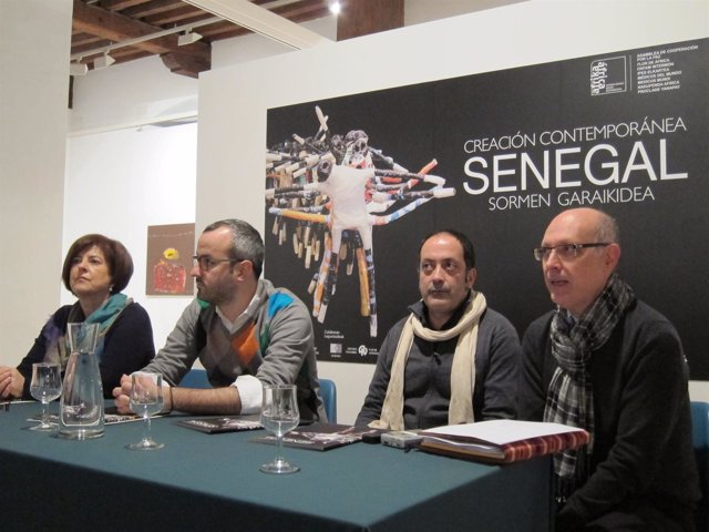 Presentación de la exposición 'Senegal: creación contemporánea'.