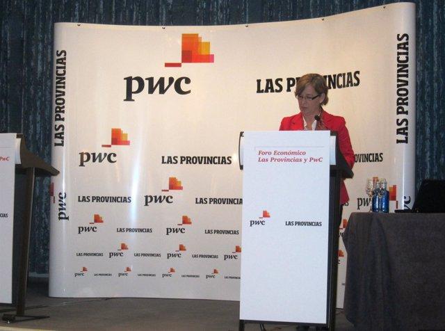 Belén Romana interviene en las jornadas de PwC y Las Provincias en Valencia