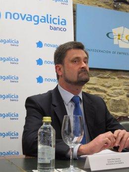 El director general de Novagalicia Banco, Juan Díaz Arnau