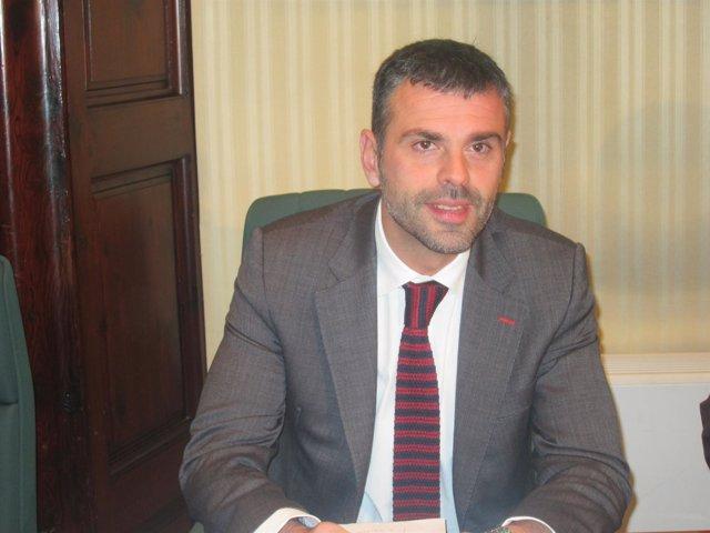 El conseller Santi Vila, en el Parlament