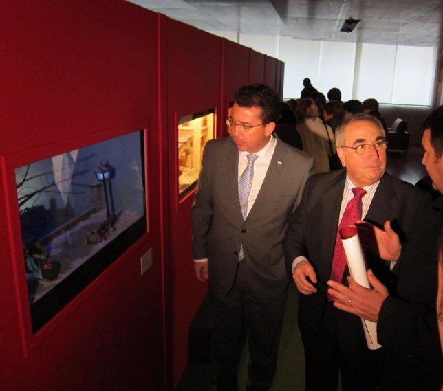 Exposición de Dioramas Navideños en el Parlamento Extremeño