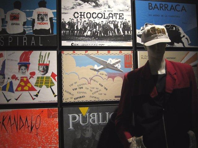 Imagen de al exposición sobre 'La Ruta del Bakalao'