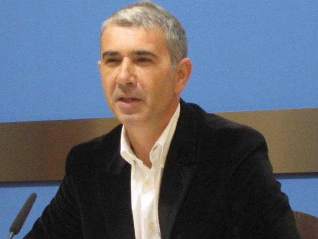 El portavoz del grupo municipal de CHA, Juan Martín
