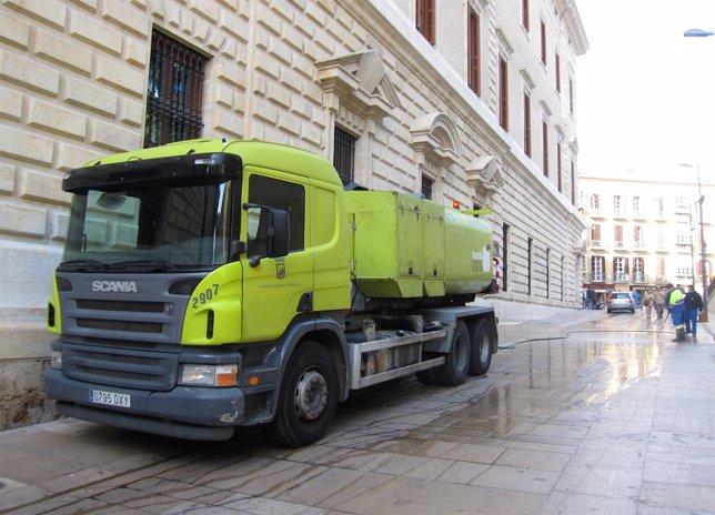 Camión de Limasa