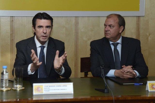 José Manuel Soria y José Antonio Monago