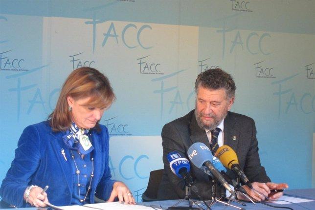 Esther Díaz e Ignacio Díaz Palacios