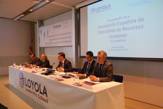 Presentación en Loyola Leadership de asociación española de directores RRHH