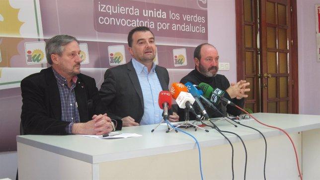 El coordinador general de IULV-CA, Antonio Maíllo.