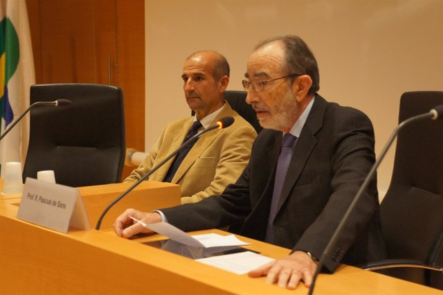 El director científico del Sincrotrón Alba, M.A.García Aranda.
