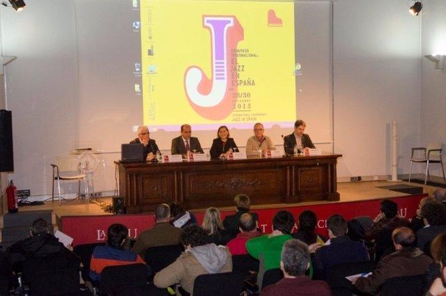 Inauguración del Congreso 'El Jazz e España'
